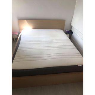 Ikea double bed + mattress - RP : 5,640HKD - receipt