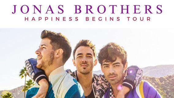 JONAS BROTHERS: HAPPINESS BEGINS FLOOR TICKETS