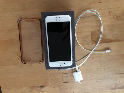 Silver iPhone 7 (128GB) - perfect condition