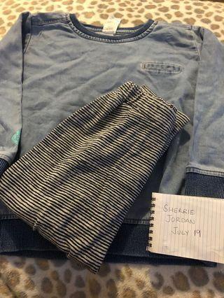 Size 4 Bonds Jumper/Pants bundle