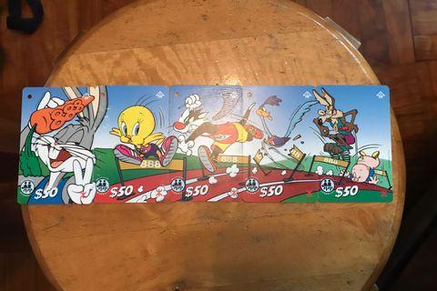 Looney tunes 地鐵紀念票