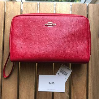 Brand New, authentic COACH leather case