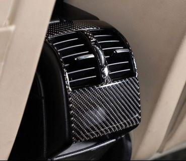 Mercedes Benz C-Class W204 Rear Air Conditioning Carbon Fiber Trim