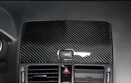 Mercedes Benz C-Class W204 Air Conditioning And Central Control Panel Carbon Fiber Trim