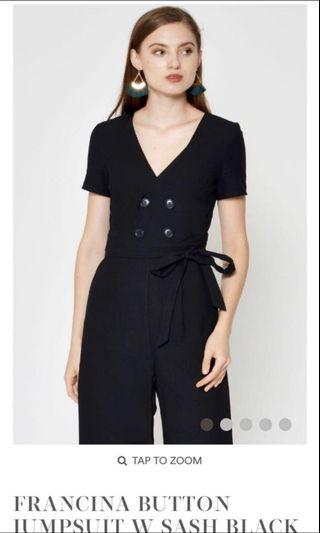 Love and Bravery Francina Button Jumpsuit