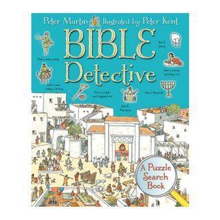 [PO] ✝️ Bible Detective: A Puzzle Search Book