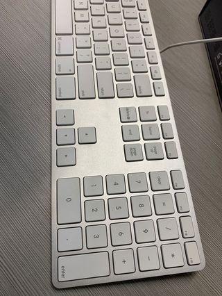 Apple Mac keyboard 有線