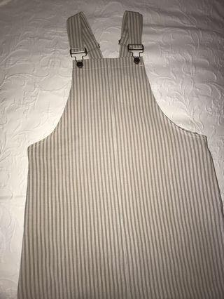 Striped pinafore inc. postage