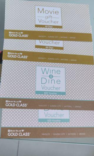 🚚 GV gold class vouchers - 4