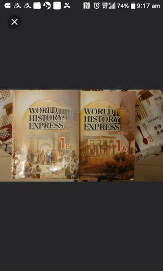 World Express History 1A 1B