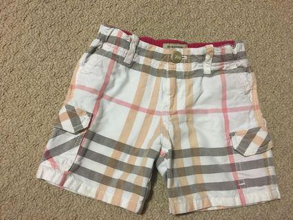 Kids Burberry Shorts