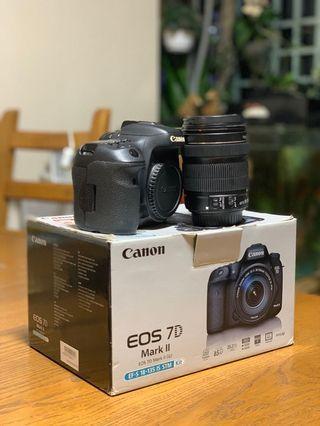 Canon 7D Mark II Kit Set (Body + Lens)