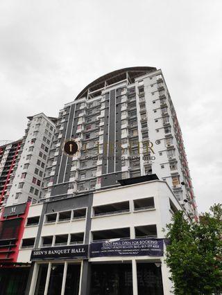 Calisa For Rent, 3 Rooms 2 bath, Puchong Taman Mas, Near LRT