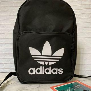 Adidas original 愛迪達後背包 書包 大學包 現貨 黑