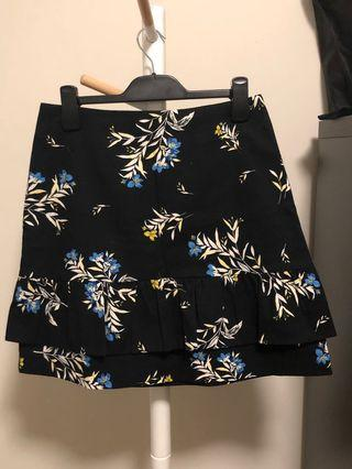 Cue floral mini skirt