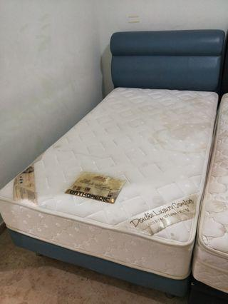Super Single Bed and Mattress