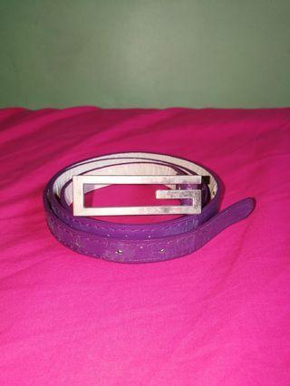 GENEVIEVE Violet Belt