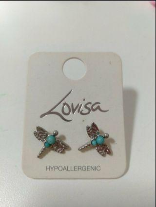 Brand New Lovisa dragonfly earrings jewellery SOLD