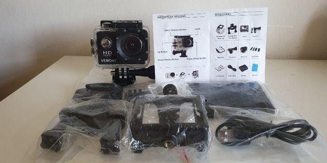 🚚 Vermont HD1080 Action Camera