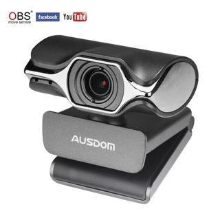 #939) Stream Webcam Full 1080p HD Camera for Computer Web Camera with Built-in Noise Reduction Microphone