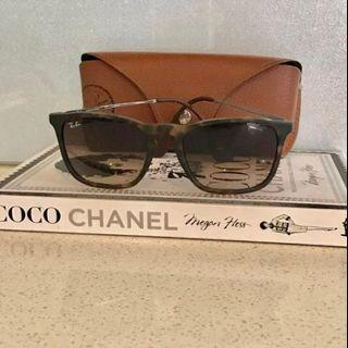 RAY BAN SUNGLASSES STYLE NAME CHRIS AUTHENTIC MADE IN ITALY