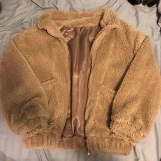 Teddy bear jacket S