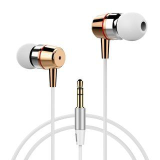 #940) Splaks Heavy Stereo Bass Noise Isolating Earphones Tangle Free High Definition Earbuds