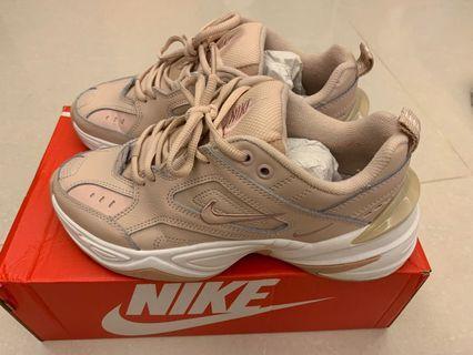 可議價Nike M2K TEKNO粉紅老爹鞋
