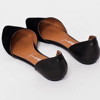 Jeffrey Campbell D'Orsay Flats Size 6/5.5