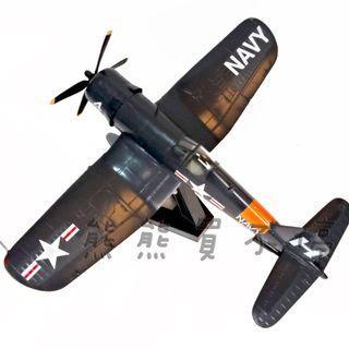 <在台現貨> 二戰美國邁阿密海軍預備役 海盜F4U-4 海盜戰鬥機1/72 飛機模型 實物拍攝