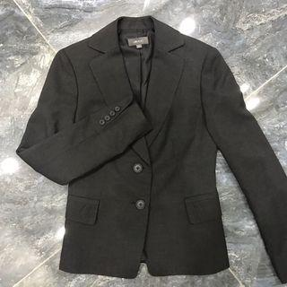 G2000 Women Formal Suit Blazer in Dark Grey