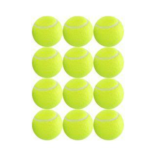 #949) 12 Pack Training Tennis Balls Great Tennis Balls