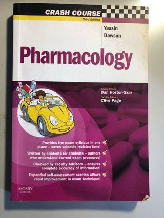 🚚 Pharmacology (crash course third edition) (Yassin Dawson)