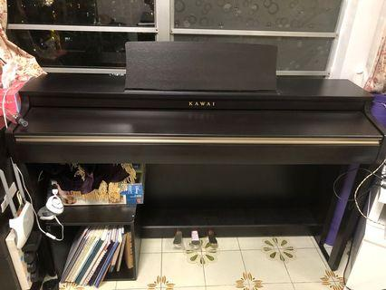 Kawai CN-27 數碼鋼琴 二手 靜音 琴