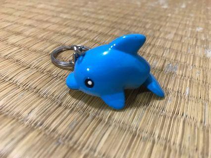 吊飾 海生館海豚&英文字母J