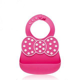 出清⭐️安全無毒 矽膠圍兜 寶寶吃飯圍兜 立體矽膠飯巾  可調節大小