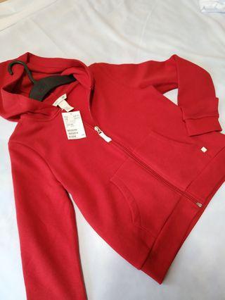 H&M Hoodie Jacket Girls (Red)