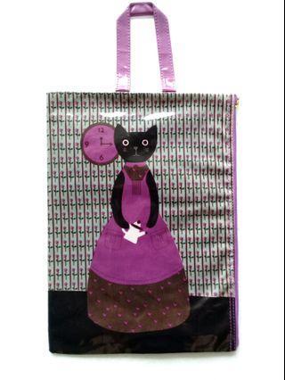 Japanese Cat Pouch Bag