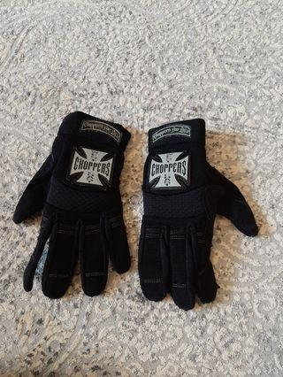 West Coast Choppers gloves sz L