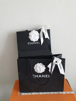 Channel  paper Bag 2=$16