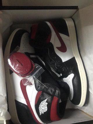 Nike Air Jordan 1 Gym Red US10.5 Brand New