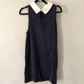 Pull&bear navy dress