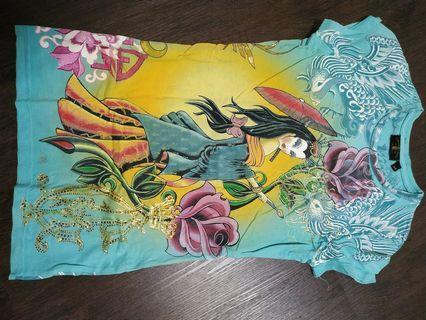 Christian Audigier T Shirt (Women XS) US size