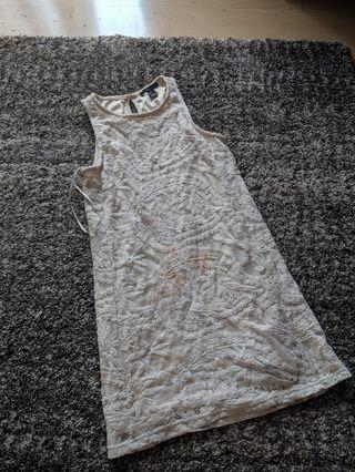 Forever 21 lace dress in ivory