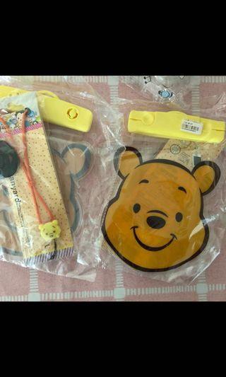 維尼熊手機防水袋