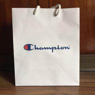 🚚 紙袋CHAMPION TAIWAN紙袋