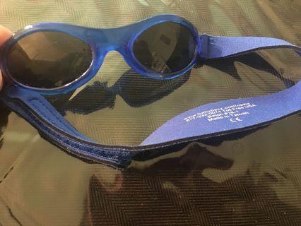 Brand new baby Banz adventure sunglasses in pacific blue