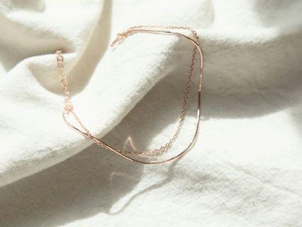 925 純銀 雙層手鏈