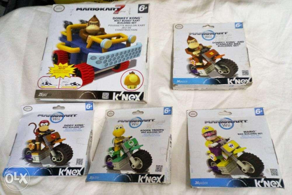 MARIO KART 7 DONKEY KONG BOLT BUGGY KART BUILDING SET 25 PC 6+