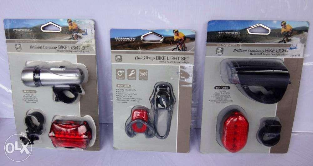 Mammoth Cyclesports Bike Bicycle Light Sets Assorted Models NewUSA
